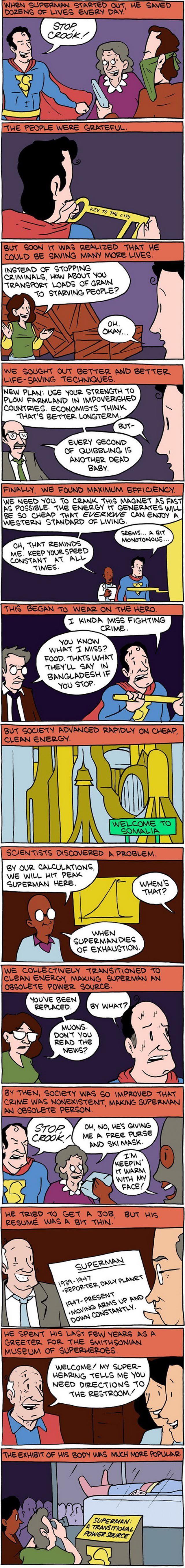 Hilarious Superman Comic