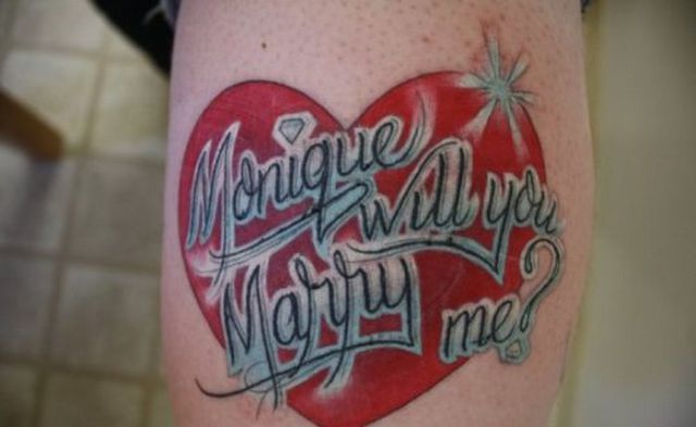 Proposal by Tattoo