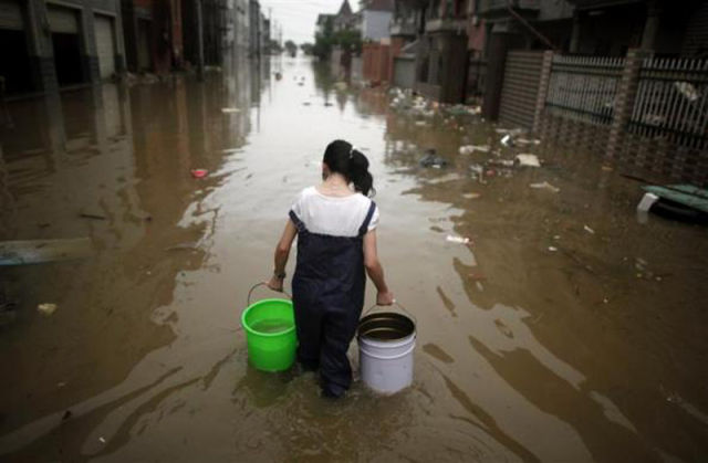 Horrible Flood in China
