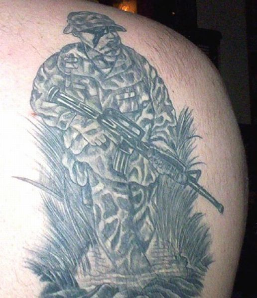 Tattoos from the US Military