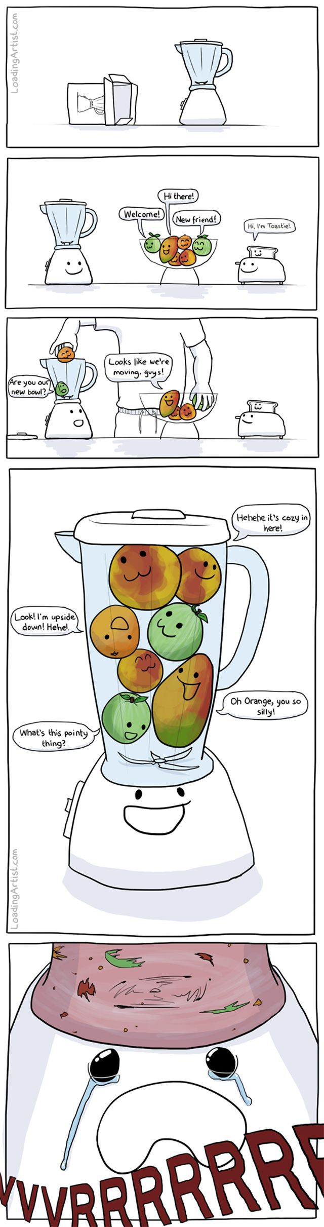 The Sad Story of a Blender