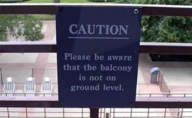 Useless and Conflicting Signs