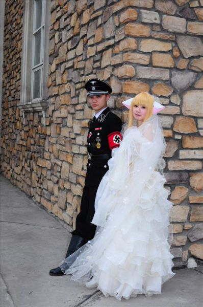 Asian Nazi Wedding