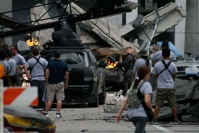 Behind the Scenes: Transformers Movie Set in Chicago