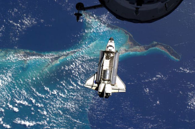 Photos from the Shuttle Atlantis