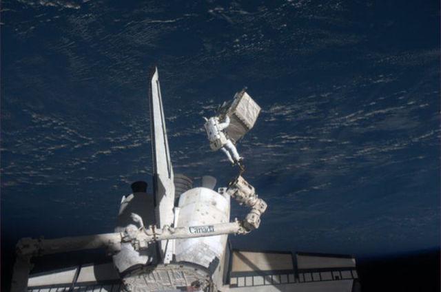 Photos from the Shuttle Atlantis