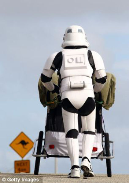 Stormtrooper Walks for the Good