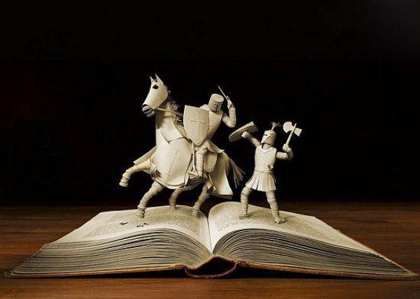 Astonishing Book Sculptures