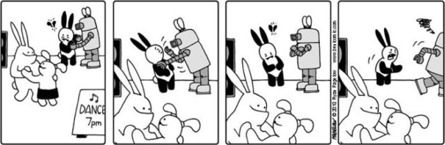 Buni Comics: The Very Optimistic Bunny With Awful Luck
