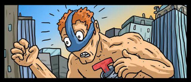 The Worst Superhero to the Rescue
