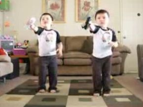 Cutest Dancing Twins