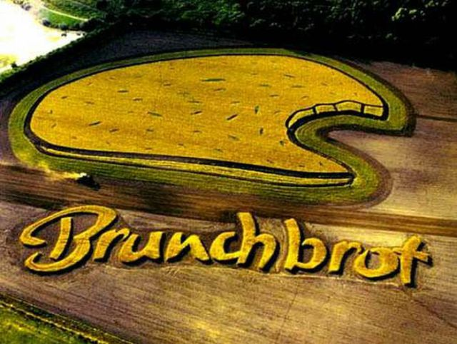 Advertising With Crop Circles