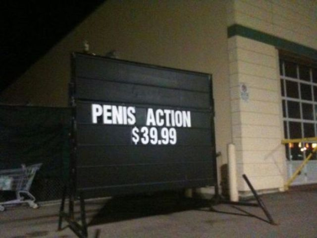 Funny Collection of WTF Signs. Part 2