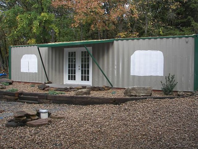 Two Shipping Containers = One House