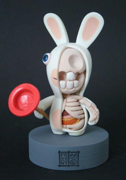 Creepy Toys Show Skeletal Insides