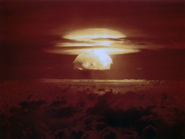 Devastating Nuclear Explosion Pictures