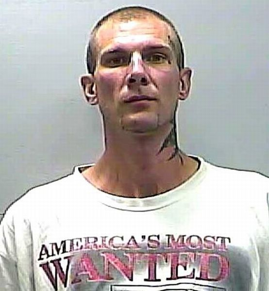 Mug Shots of People Wearing Hilariously Ironic T-Shirts