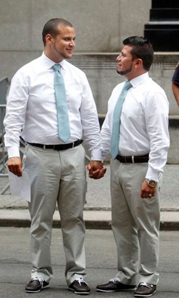 Newly Married Gay Couples
