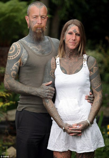 Divorcee Celebrates By Tattooing Entire Body