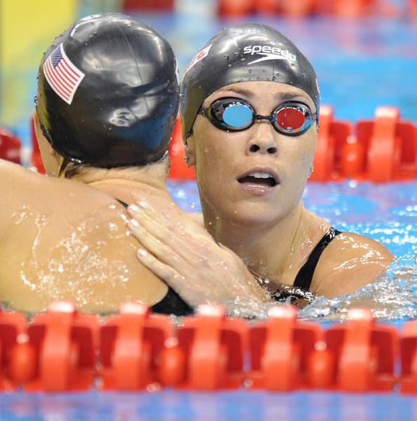 Sweet Action Shots From the 2011 FINA Swimming World Championships