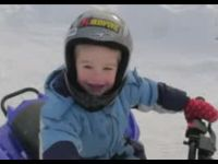 Kid Does Donuts on ATV