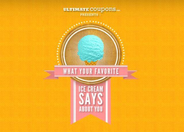 How Ice Cream Defines You
