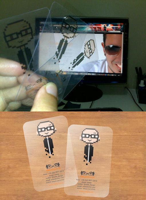 Creative Geeky Business Cards
