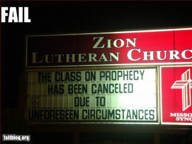 Entertaining Sign Fails