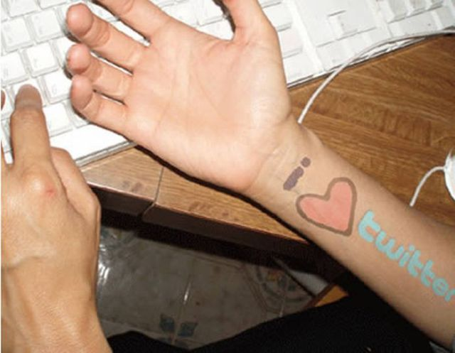 Tats Inspired by the Internet