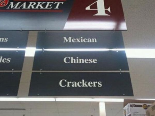 Funny Unintended Racism