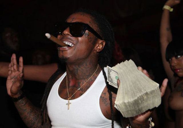 Lil Wayne and Drake Make It Rain $250k at Strip Club
