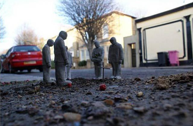 Miniature Cement Sculptures