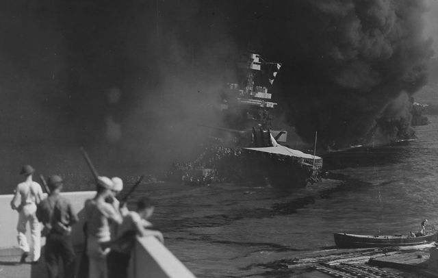 Rare Photos of the Attack on Pearl Harbor