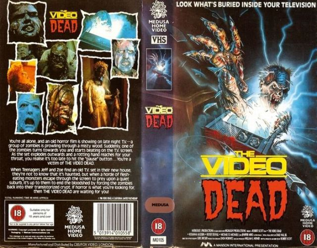 VHS Horror Video Tape Covers Parents Refused to Rent