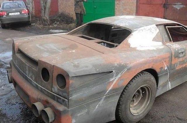 Crazy Russian Homebuilt Mercedes