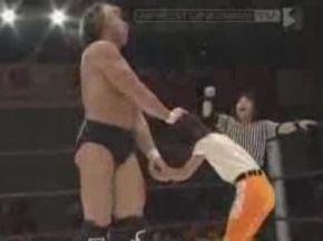 Wrestler vs 9 Year Old Girl