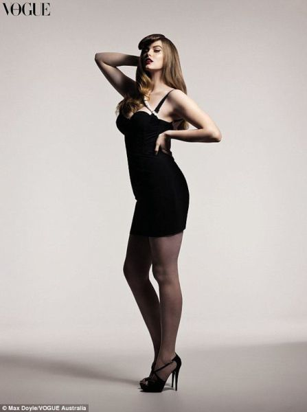 This IS Plus Size Model???