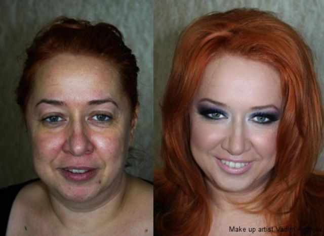 Before and After Magical Makeup Transformations