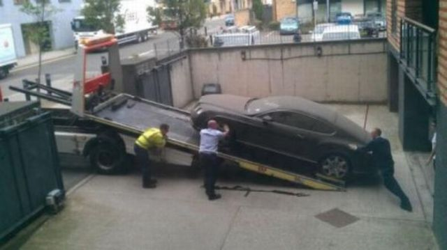 Who Could Have Abandoned a Bentley?
