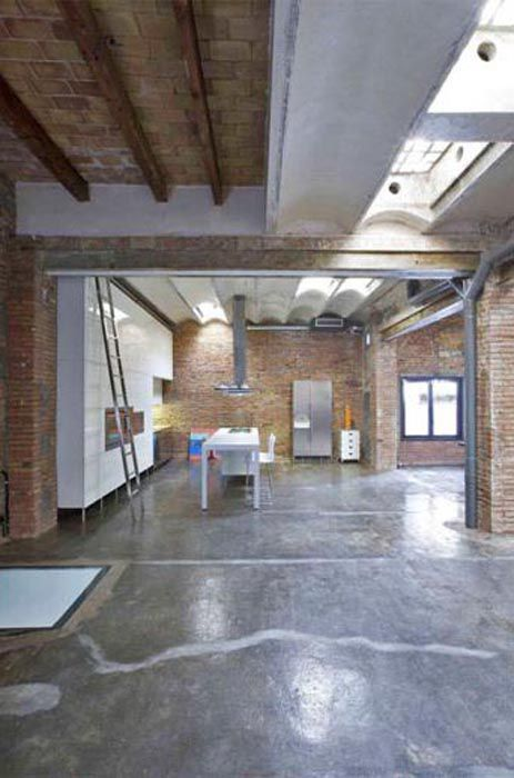 A Loft From A Warehouse