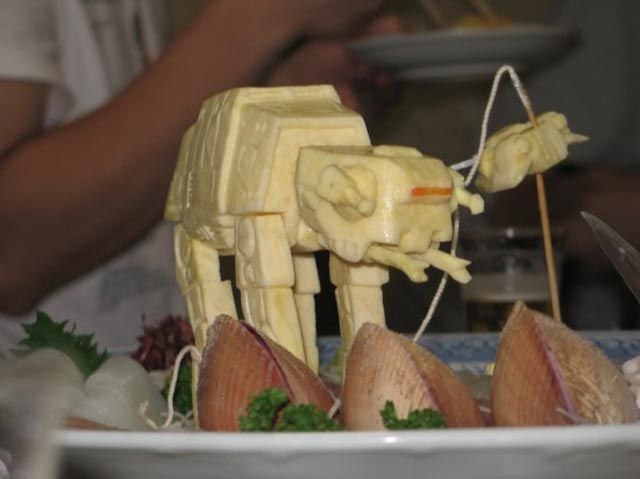 Sushi Garnishes Complements of Star Wars