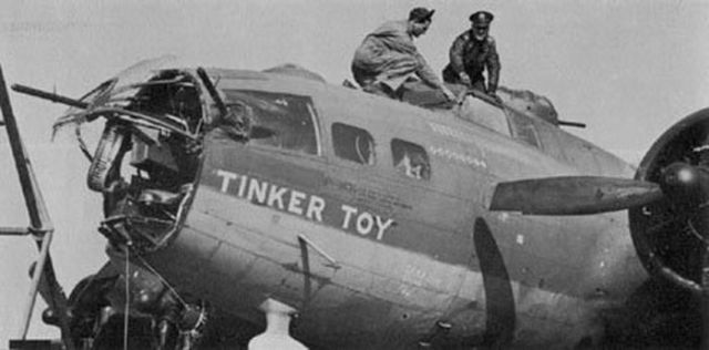 Dangerous B-17 Landings