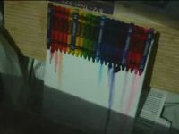 Art Video of the Day: Crayon Melting Time Lapse