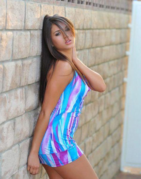 Girl in tights