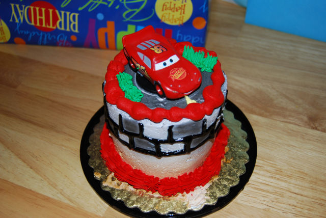 Kid's First Birthday Cake