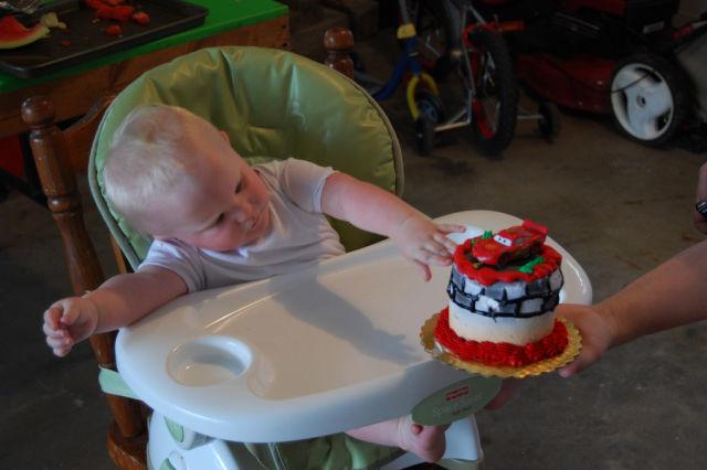 Kid's First Birthday Cake