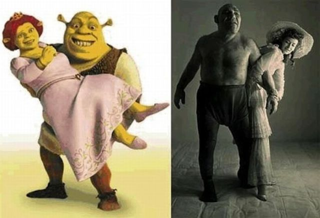 Surprising Fictional Characters Created from People