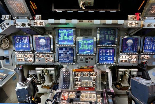 A Tour around the Space Shuttle