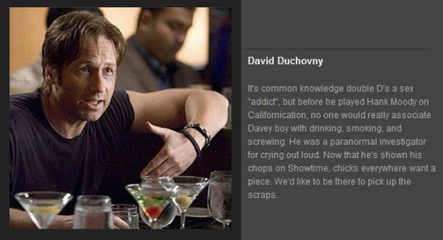Celebrities to Drink with