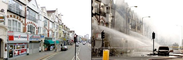 Riots in London: Before and After